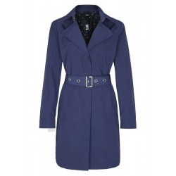 Trench coat in a nylon look by s.Oliver Black Label