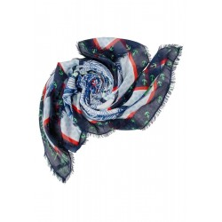 Maritime Print Scarf by Street One