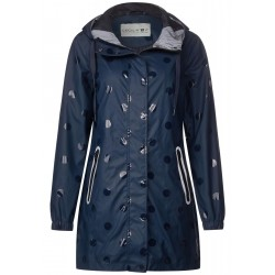 Rain jacket with allover print by Cecil
