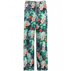 Palazzo trousers with an exotic print by Taifun