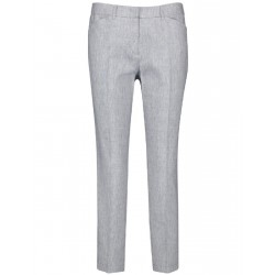 7/8-length trousers in a linen blend by Taifun