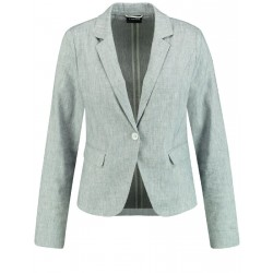 Fitted blazer in a linen blend by Taifun