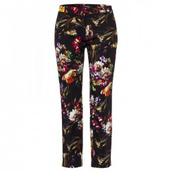 7/8 pants with flower print by More & More