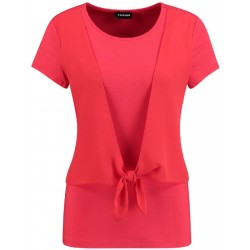 Top with a knotted detail by Taifun