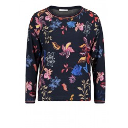 Sweatshirt mit Blumenmuster by Betty Barclay