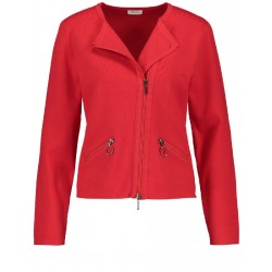 Biker-look cardigan by Gerry Weber Collection