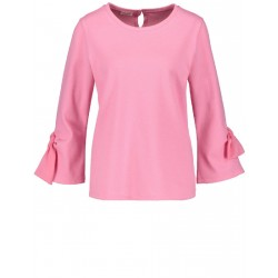 3/4-sleeve top with decorative bows by Gerry Weber Collection