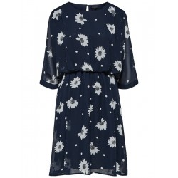 Floral printed dress by Selected