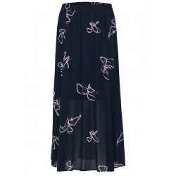 Printed maxi skirt by Selected