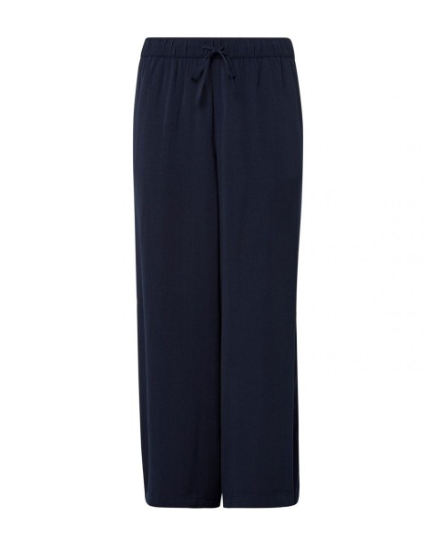Culotte with side slit pockets by Tom Tailor Denim
