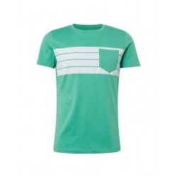 T-shirt with wide stripes by Tom Tailor Denim