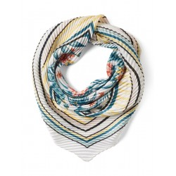 Bandana with striped pattern on the edges by Tom Tailor