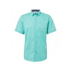 Shirt with all-over patterned by Tom Tailor