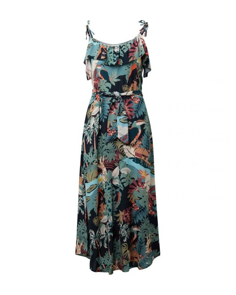 Dress with an all-over pattern by Tom Tailor Denim
