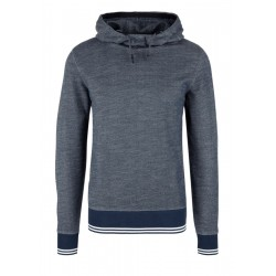 Textured hooded sweatshirt by s.Oliver Red Label