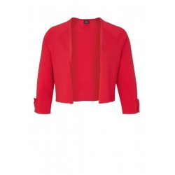 Cropped cardigan with bows by s.Oliver Black Label