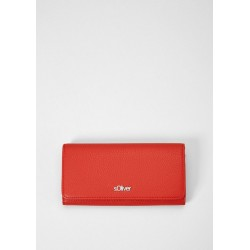 Flap Wallet mit Logo-Plate by s.Oliver Red Label
