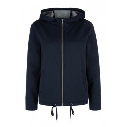 Sweatshirt jacket with drawstrings by s.Oliver Red Label