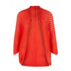 Strick-Poncho mit Ajour-Muster by s.Oliver Red Label