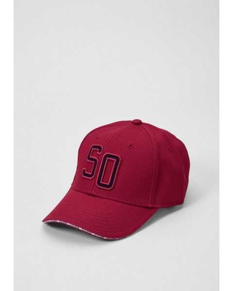Baseball cap with a logo appliqué by s.Oliver Red Label