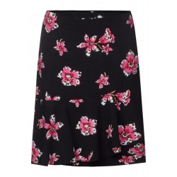 Print skirt with Volant Lou by Street One