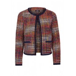 Multicolour-Blazer aus Tweed by s.Oliver Black Label