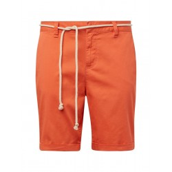 Chino Bermuda shorts with a belt by Tom Tailor Denim