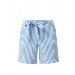 Smart Short: Lightweight linen trousers by s.Oliver Red Label