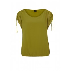 Chiffonbluse mit Raffung by s.Oliver Black Label