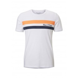 T-Shirt aus reinem Organic Cotton by Marc O'Polo