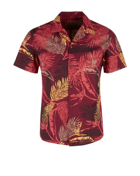 Shirt with a summery print by s.Oliver Red Label