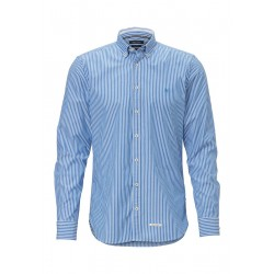 Long sleeve shirt shaped in soft cotton quality by Marc O'Polo
