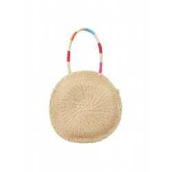 Woven shopper with a round design by s.Oliver Red Label