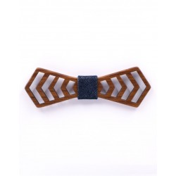 Wooden bow tie NEW YORK by Mr. Célestin