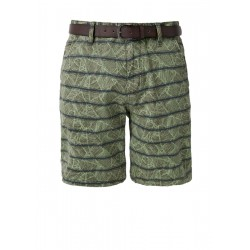 Plek Loose: Patterned chino shorts by s.Oliver Red Label
