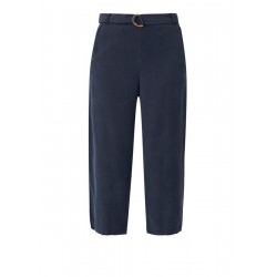 Culottes: twill trousers by s.Oliver Red Label