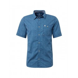 Shirt with a patch breast pocket by Tom Tailor