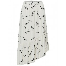 Jupe midi by Selected