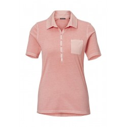Polo shirt with blended material detailing by Marc O'Polo
