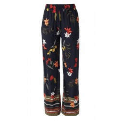 Wide leg cloth trousers by s.Oliver Red Label