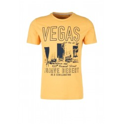 Slim: T-shirt with a Vegas print by s.Oliver Red Label
