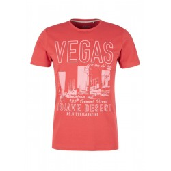 Slim: T-Shirt mit Vegas-Print by s.Oliver Red Label