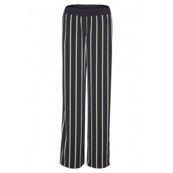 Charlotte Wide: Satin trousers by s.Oliver Black Label
