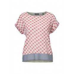T-Shirt im Patchwork-Stil by Marc O'Polo