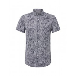 Patterned short sleeve shirt by Tom Tailor Denim