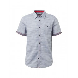 Textured short sleeve shirt by Tom Tailor