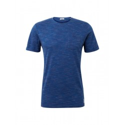 T-shirt in a melange look by Tom Tailor