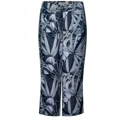 Culotte with allover print by Cecil
