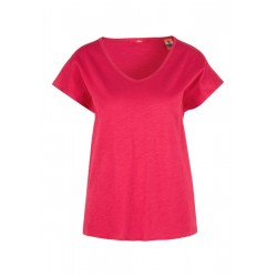 T-shirt with a crochet lace detail by s.Oliver Red Label
