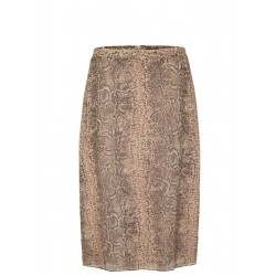 Chiffon skirt with an animal print by s.Oliver Black Label